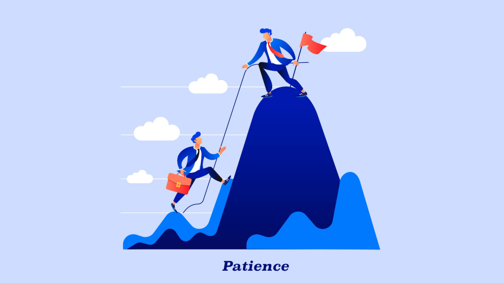 Patience in Creating web Design