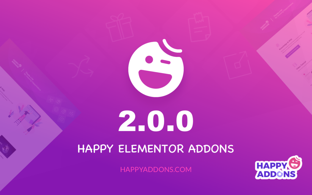 Happy Elementor Addons v2.0.0 released