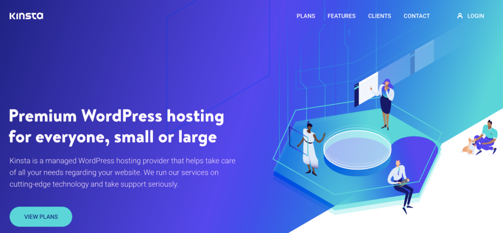 Fastest wordpress hosting with Kinsta