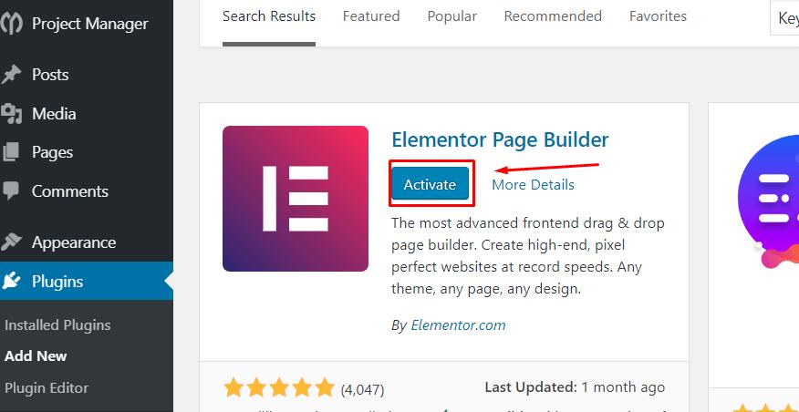 Elementor tutorial
