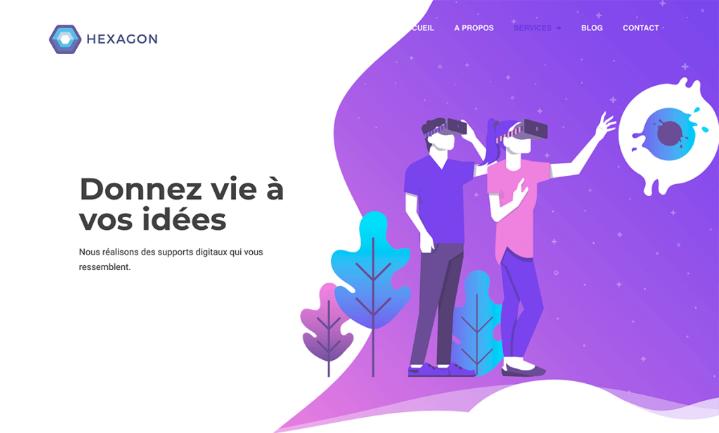 HEXAGON WEB