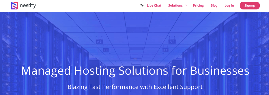 Nestify- best managed web hosting