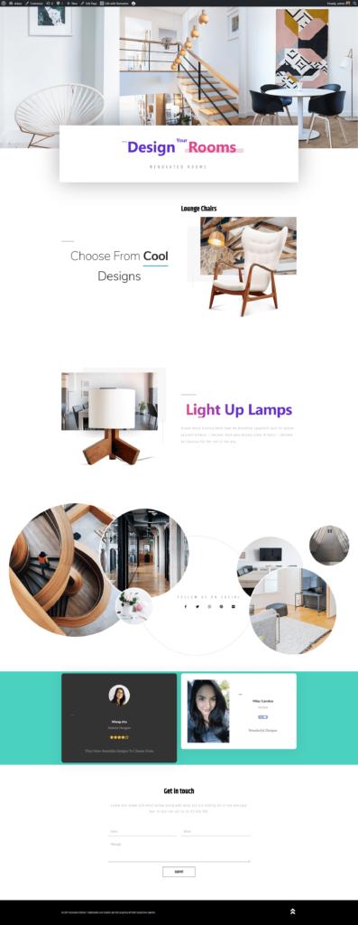 Enterior Design Website