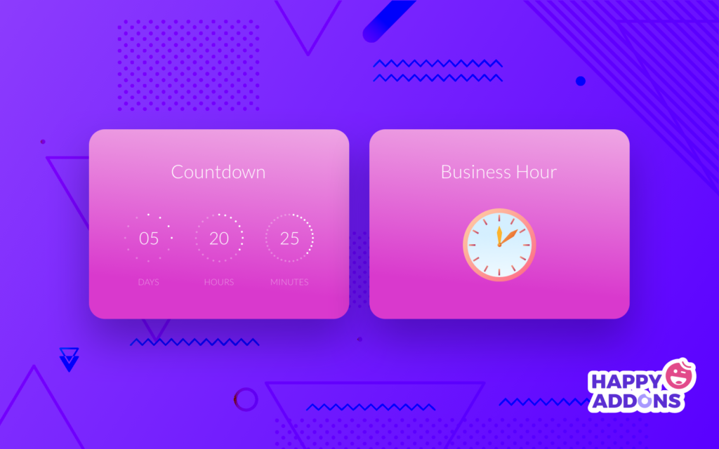 Business hour & countdown timer
