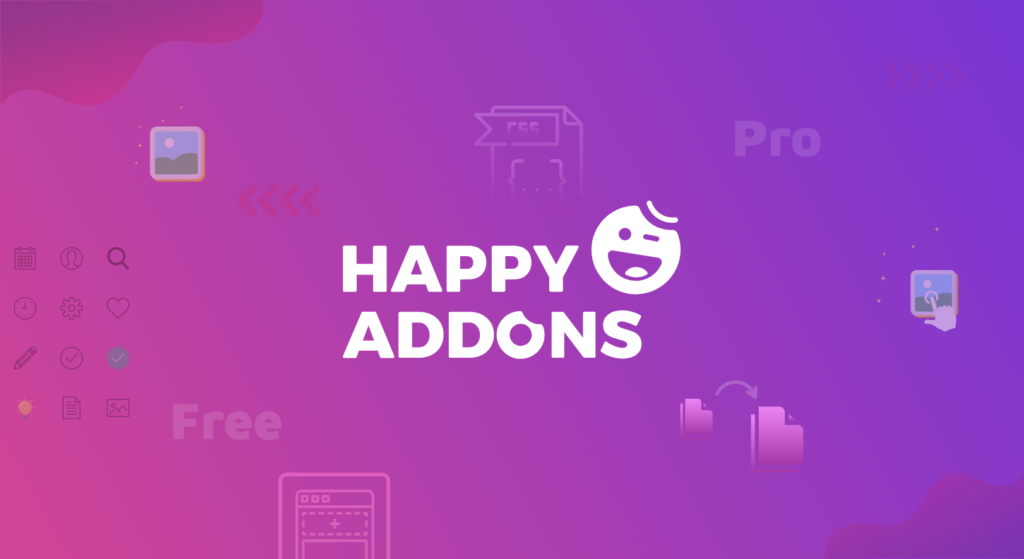 Happy Addons updates