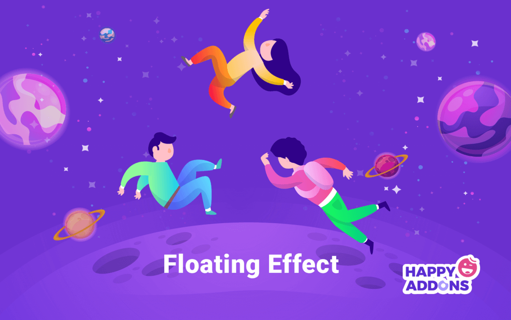 floating effect in page builder