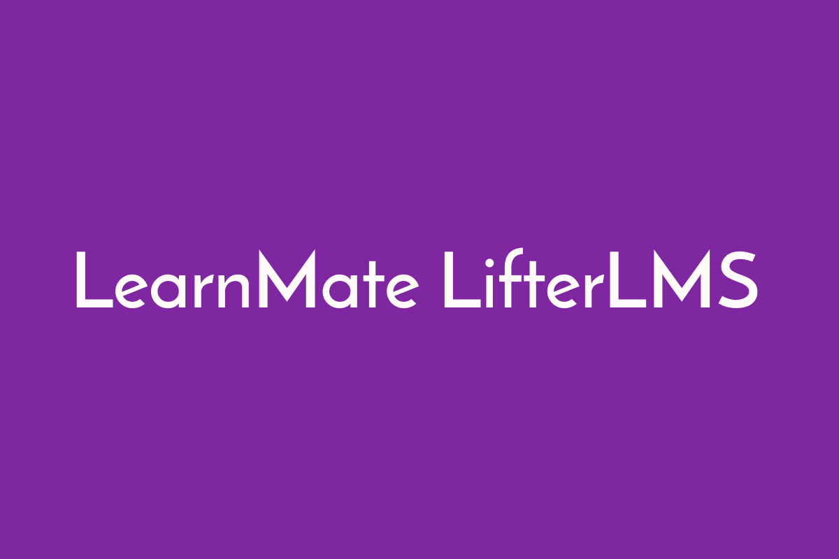 LearnMate LifterLMS