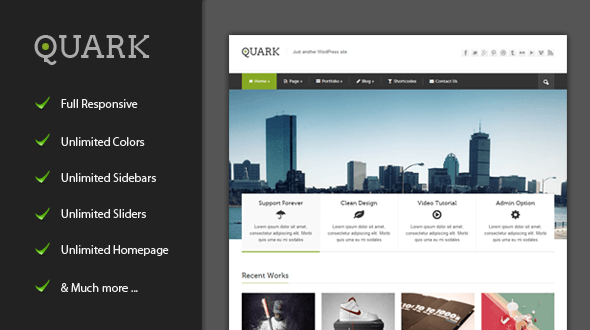 quark-wordpress-theme