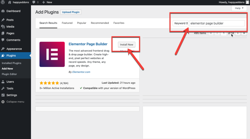 Install from your wordpress dashboard