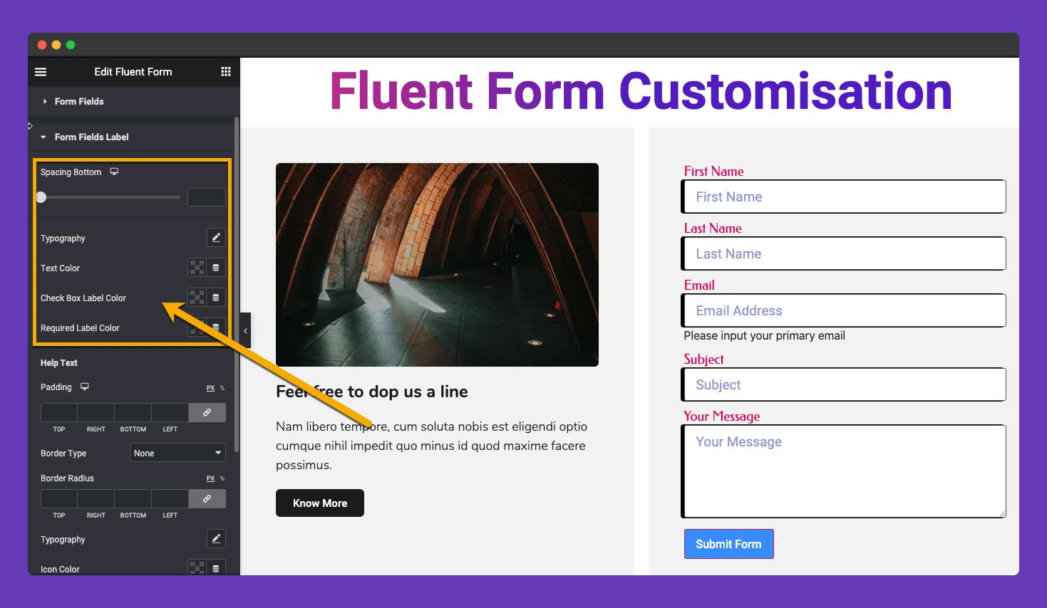 Happyaddons Fluent Form 5