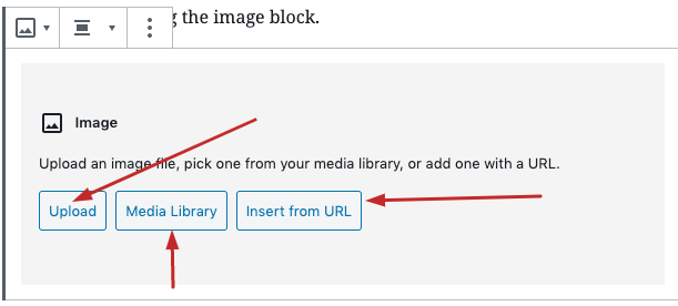 add image in gutenberg two