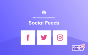 WordPress Social feed