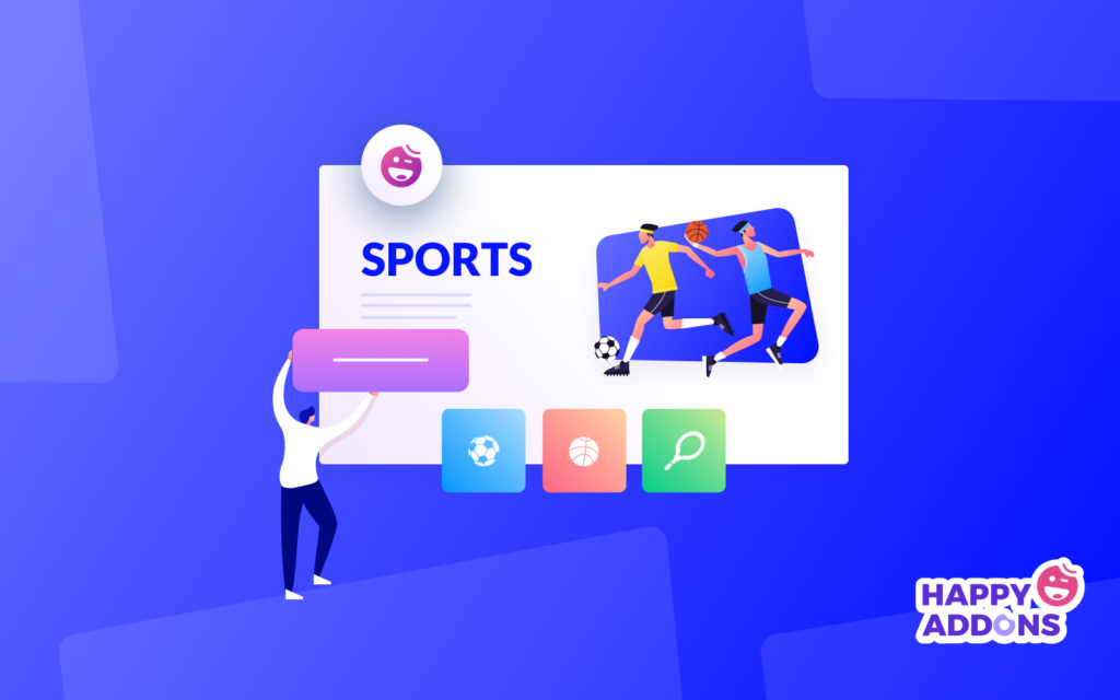 how to build a sports website