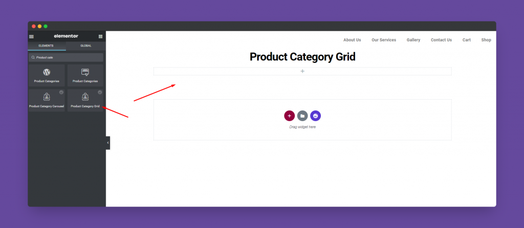 Product Category Grid