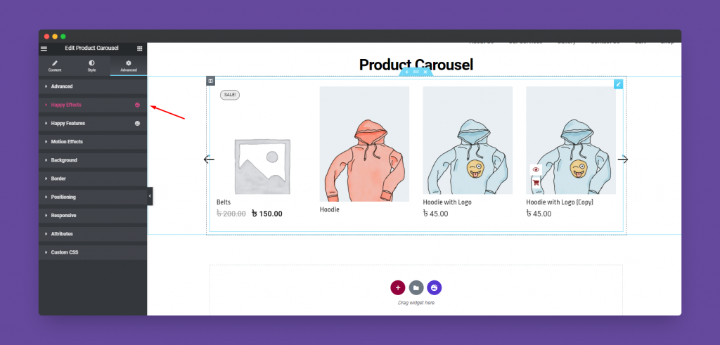 Product Carousel