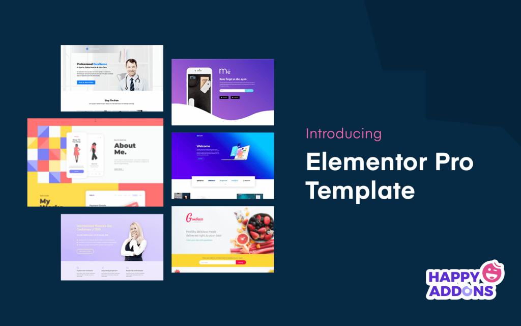 Introducing Elementor pro template (Elementor pro template) - 01