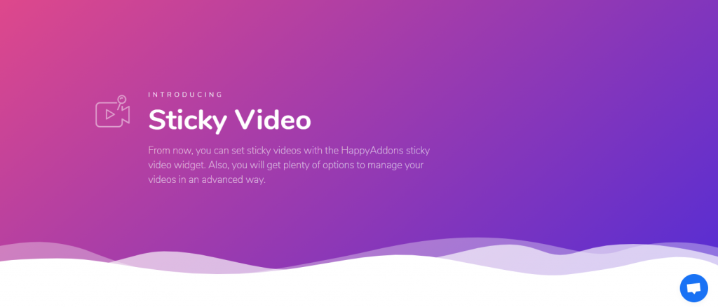 How to use Sticky Videos