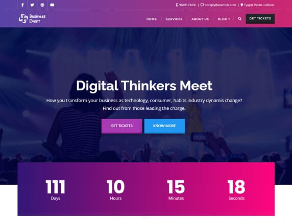 Business Event- Digital Thinkers Meet
