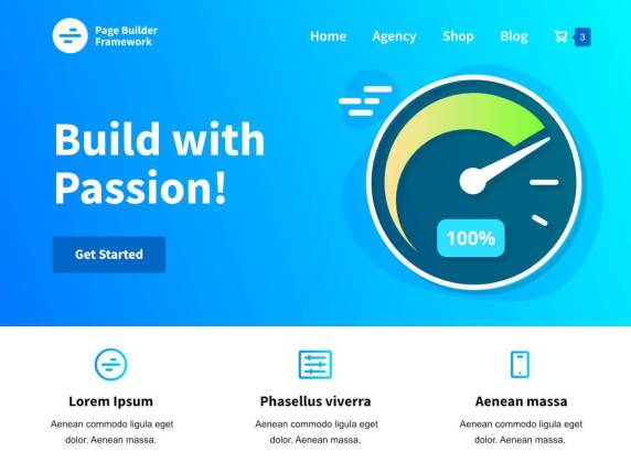 Page Builder Framework- Build with Passion