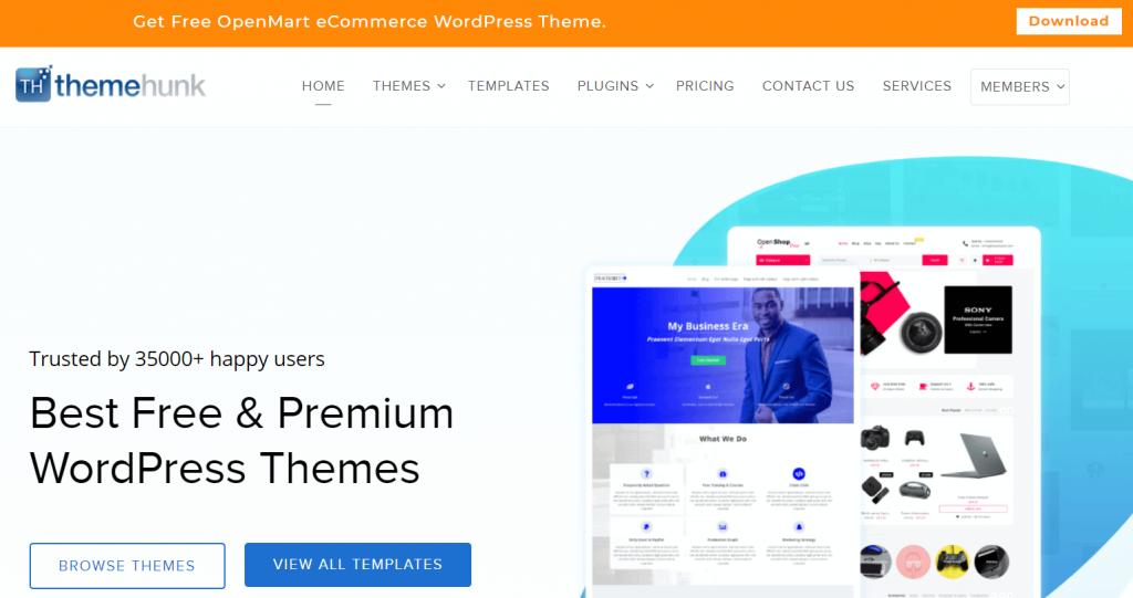ThemeHunk- best WordPress black Friday deals