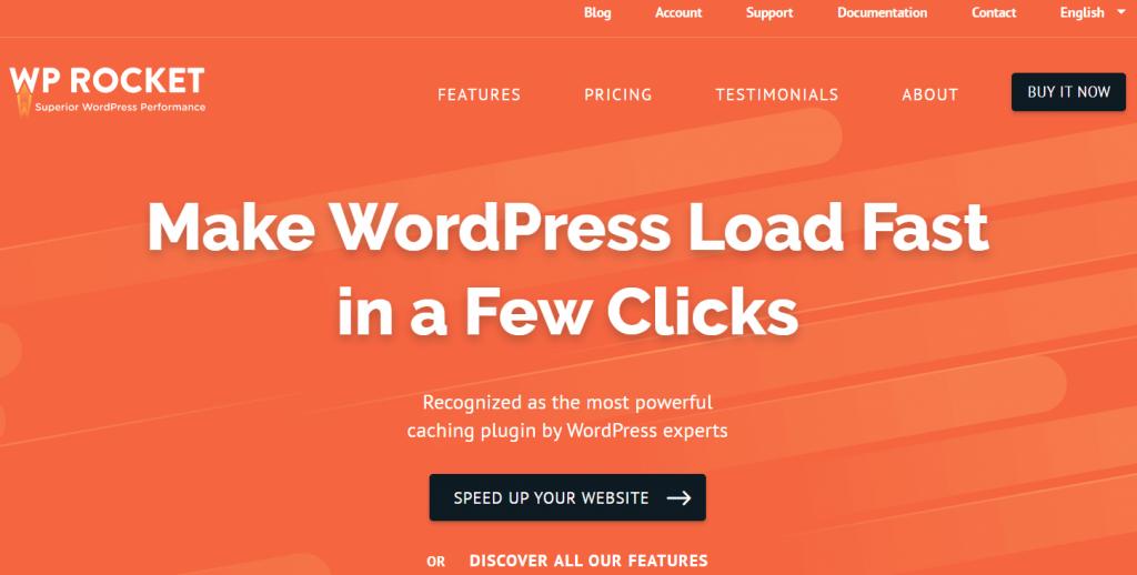 WP Rocket- best WordPress black Friday deals