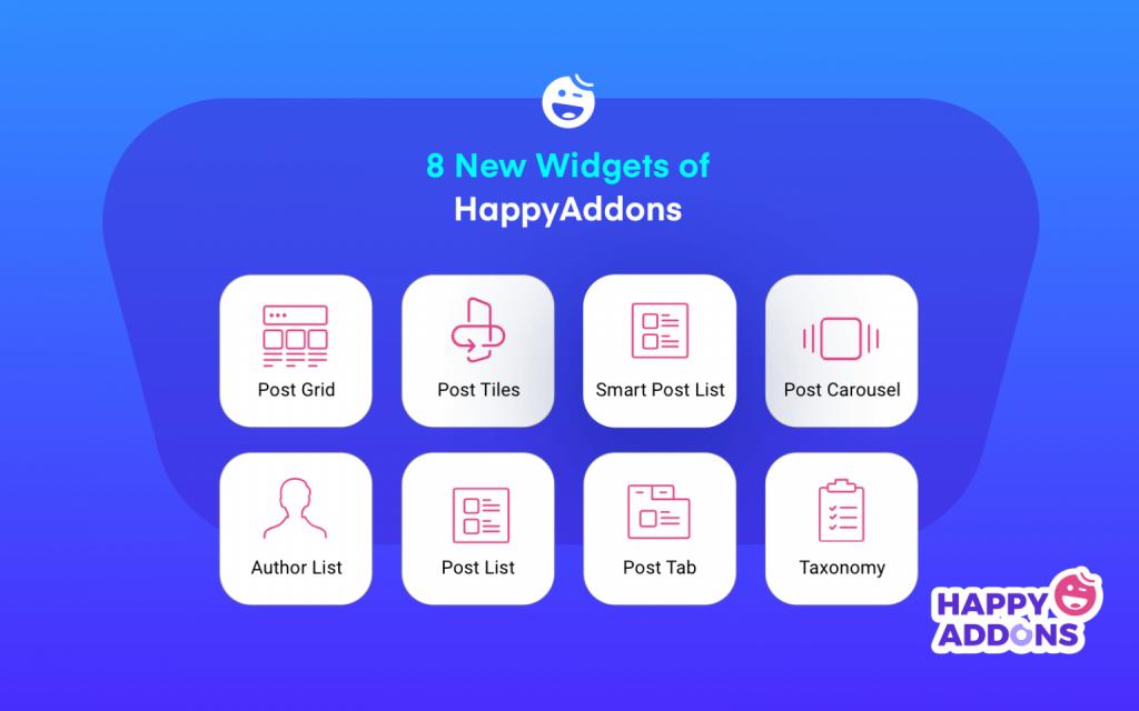 HappyAddons blog post widgets