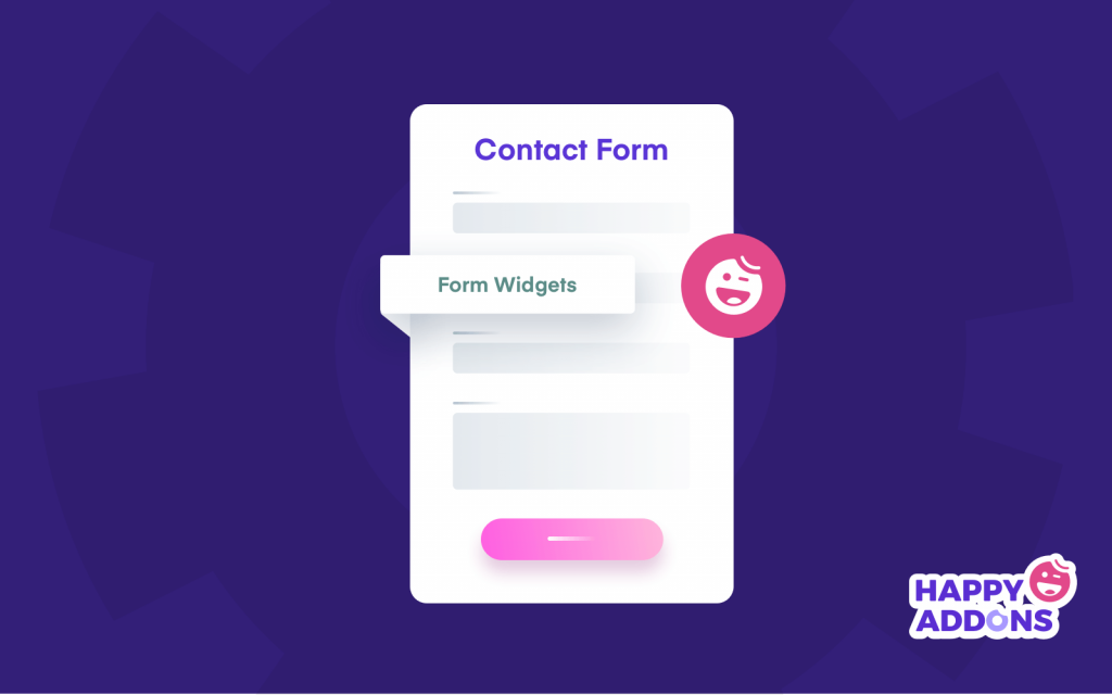 Happy Addons Form Widgets
