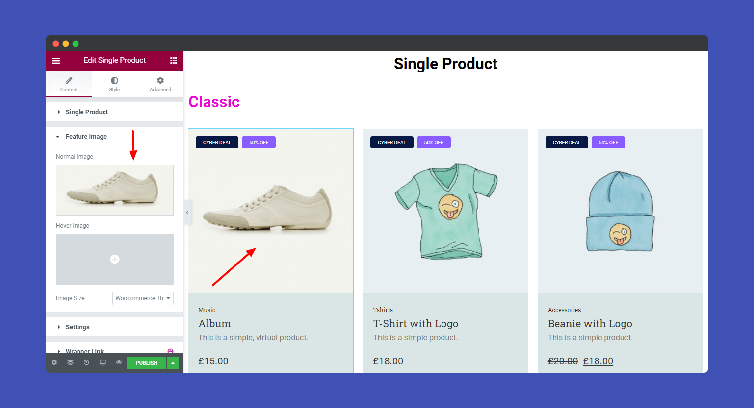 Feature Image style