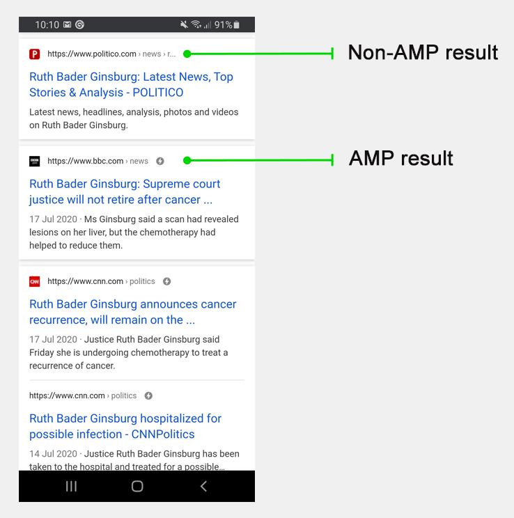 AMP for elementor
