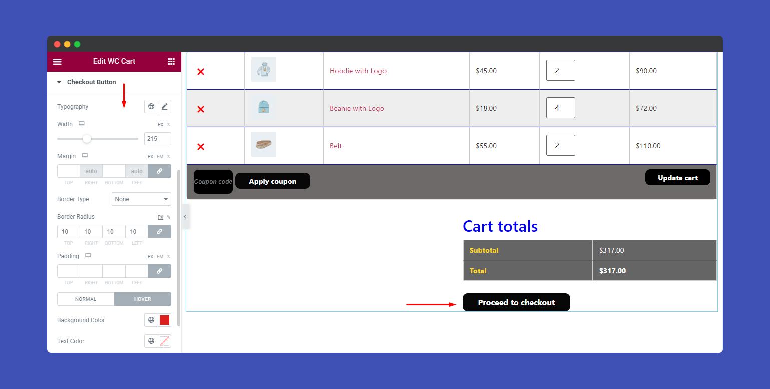 Checkout Button