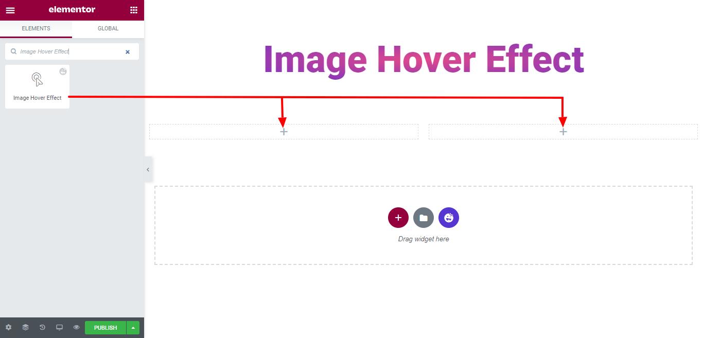 Add Image Hover Effect Widget