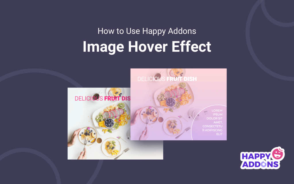 How to Use Happy Addons Image Hover Effects