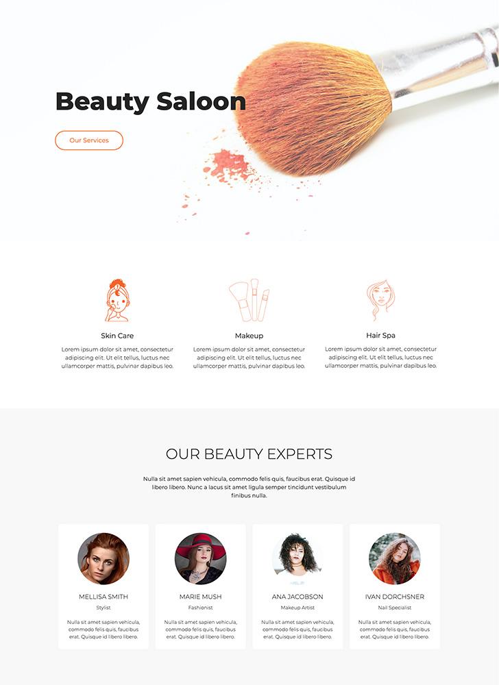 beauty saloon 1