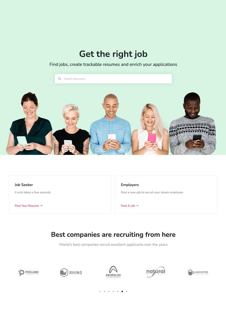 job homepage1