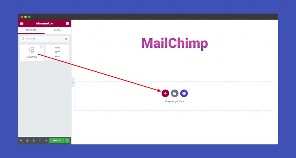 Add MailChimp 1